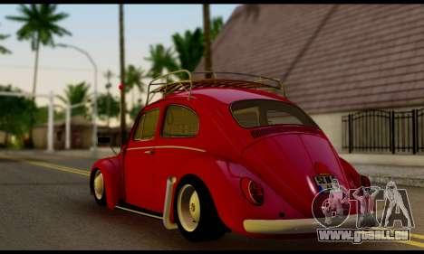 Volkswagen Beetle für GTA San Andreas linke Ansicht