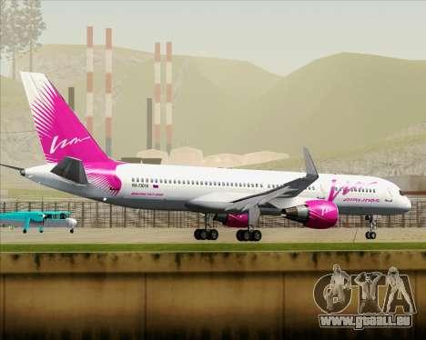 Boeing 757-230 VIM Airlines (VIM) für GTA San Andreas Unteransicht