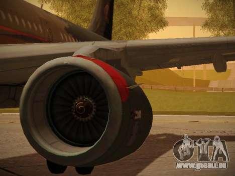 Airbus A321-232 Royal Jordanian Airlines für GTA San Andreas Räder