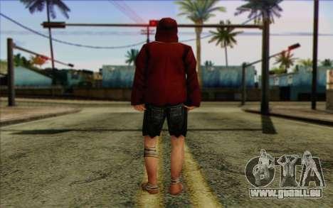 Squad Mitglied AI Haut 2 für GTA San Andreas zweiten Screenshot