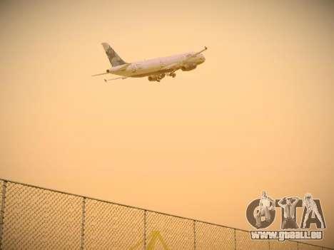 Airbus A321-232 jetBlue La vie en Blue für GTA San Andreas Rückansicht
