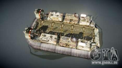 LCAC US Navy für GTA 4 rechte Ansicht