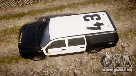 GTA V Declasse Granger LSS Black [ELS] Slicktop für GTA 4 rechte Ansicht