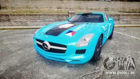 Mercedes-Benz SLS AMG v3.0 [EPM] Kotori Minami für GTA 4