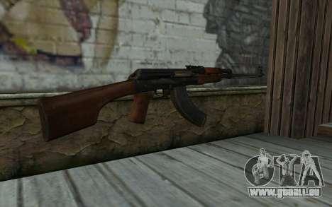 RPK 74 from Battlefield 4 pour GTA San Andreas deuxième écran
