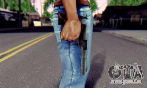 Silenced Pistol from Death to Spies 3 pour GTA San Andreas troisième écran