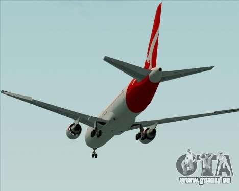 Boeing 767-300ER Qantas (New Colors) pour GTA San Andreas vue de côté