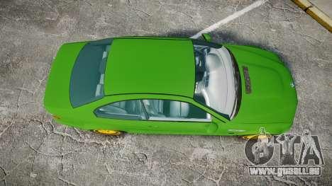 BMW M3 E46 2001 Tuned Wheel Gold pour GTA 4 est un droit