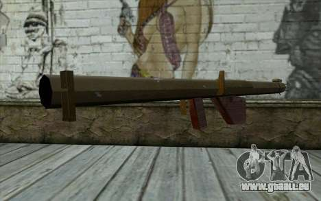 M1 Bazooka aus Day of Defeat für GTA San Andreas zweiten Screenshot