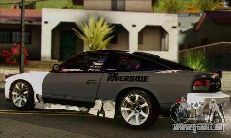 Nissan 240SX für GTA San Andreas linke Ansicht