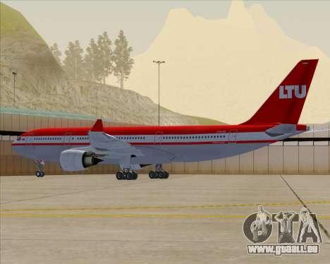 Airbus A330-200 LTU International für GTA San Andreas Motor