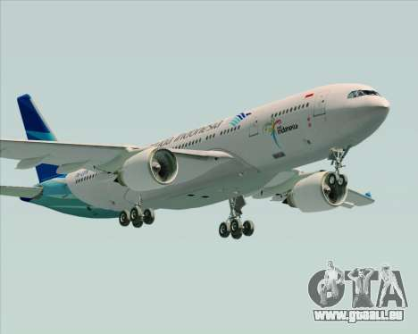 Airbus A330-243 Garuda Indonesia pour GTA San Andreas salon