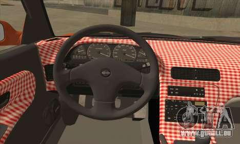 Nissan Onevia SWS für GTA San Andreas zurück linke Ansicht