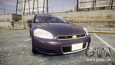 Chevrolet Impala 2010 Undercover [ELS] pour GTA 4