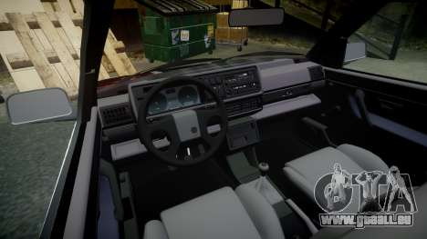 Volkswagen Golf GTI Mk2 Budget Street Cred pour GTA 4 est une vue de l'intérieur