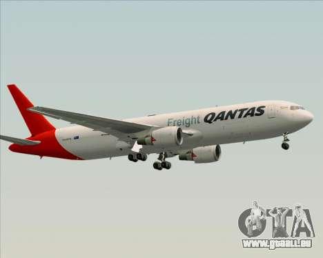 Boeing 767-300F Qantas Freight pour GTA San Andreas vue intérieure