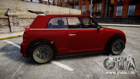GTA V Weeny Issi Tuned pour GTA 4 est une gauche