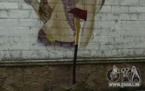 Hache d'incendie (DayZ Standalone) v1 pour GTA San Andreas deuxième écran