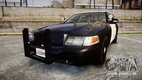 Ford Crown Victoria CHP CVPI Slicktop [ELS] pour GTA 4