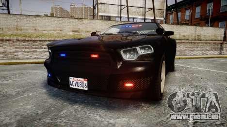 GTA V Bravado Buffalo Unmarked [ELS] Slicktop für GTA 4