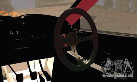 Nissan Skyline HCR32 pour GTA San Andreas sur la vue arrière gauche