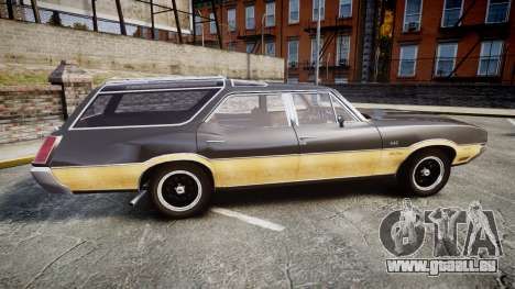 Oldsmobile Vista Cruiser 1972 Rims1 Tree1 pour GTA 4 est une gauche