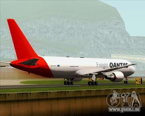 Boeing 767-300F Qantas Freight pour GTA San Andreas vue de côté