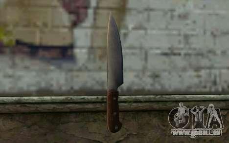 Küchenmesser (DayZ Standalone) für GTA San Andreas zweiten Screenshot