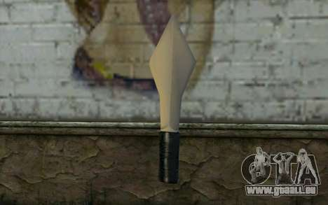 Knife from Cutscene pour GTA San Andreas