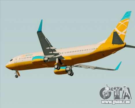 Boeing 737-800 Orbit Airlines pour GTA San Andreas vue arrière