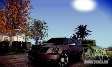 Cadillac Escalade Ninja für GTA San Andreas