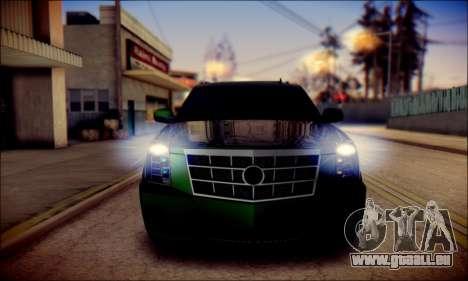 Cadillac Escalade Ninja für GTA San Andreas Motor