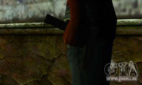 Glock 18 from Medal of Honor: Warfighter für GTA San Andreas dritten Screenshot