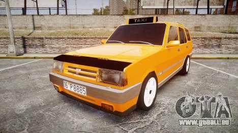 Tofas Kartal SLX Taxi pour GTA 4