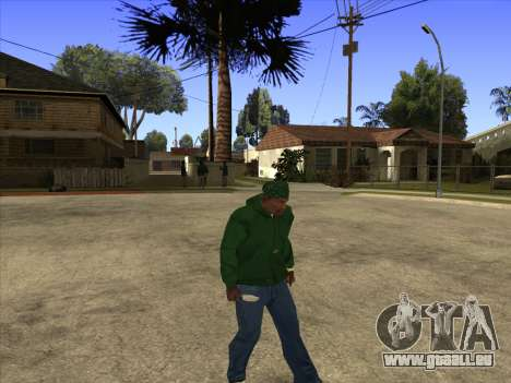 Cleo Walk Style für GTA San Andreas her Screenshot