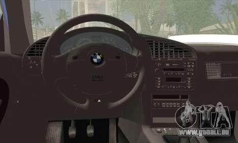 BMW M3 E36 Cabrio für GTA San Andreas zurück linke Ansicht