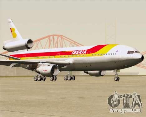 McDonnell Douglas DC-10-30 Iberia für GTA San Andreas Unteransicht