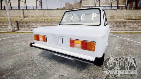 ZAZ-968 pour GTA 4 Vue arrière de la gauche