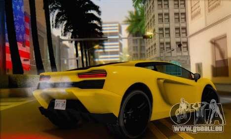 Pegassi Vacca (HQLM) pour GTA San Andreas laissé vue