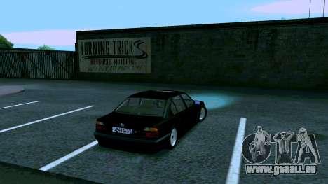 BMW 750iL für GTA San Andreas rechten Ansicht