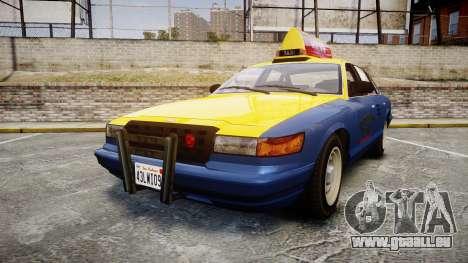 Vapid Stanier Taxi DCC pour GTA 4