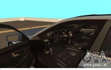 Mercedes-Benz W212 (Wheeljack from TF 3) pour GTA San Andreas vue de droite