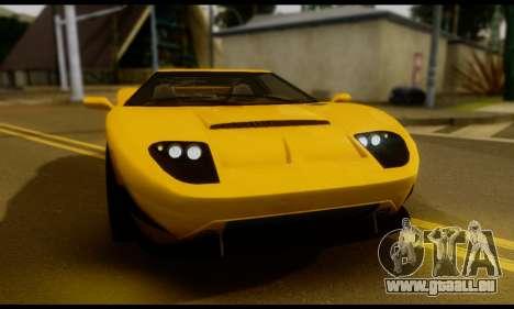 GTA 5 Bullet für GTA San Andreas zurück linke Ansicht