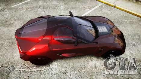 Bertone Mantide 2009 pour GTA 4 est un droit