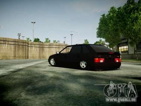VAZ 2114 pour GTA 4 Vue arrière de la gauche