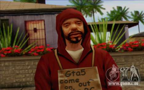 Squad Mitglied AI Haut 2 für GTA San Andreas dritten Screenshot