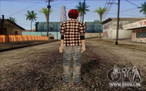Mila 2Wave from Dead or Alive v9 pour GTA San Andreas deuxième écran