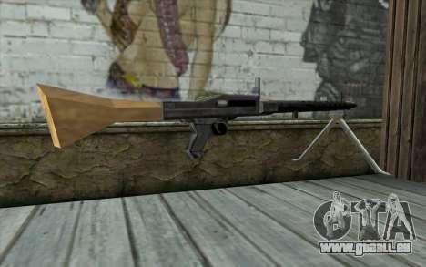 MG-34 from Day of Defeat für GTA San Andreas zweiten Screenshot