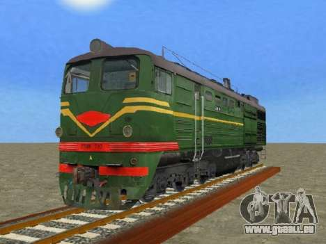 Locomotive 2TE10L-079 pour GTA San Andreas