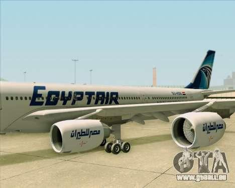 Airbus A340-600 EgyptAir pour GTA San Andreas